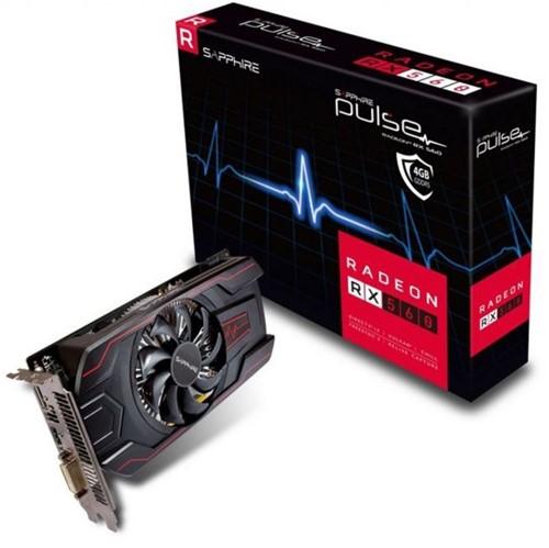Placa de Vídeo VGA Sapphire AMD Radeon RX 560 4GB 11267-18-20G