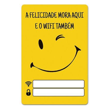 Placa de Wifi a Felicidade