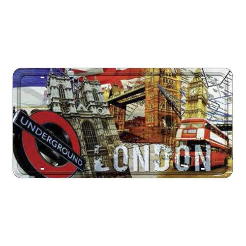Placa Decorativa 15x30cm London Underground Lpd-030 - Litocart
