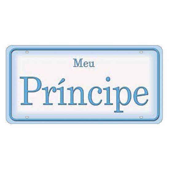 Placa Decorativa 15x30cm Meu Príncipe Lpd-042 - Litocart