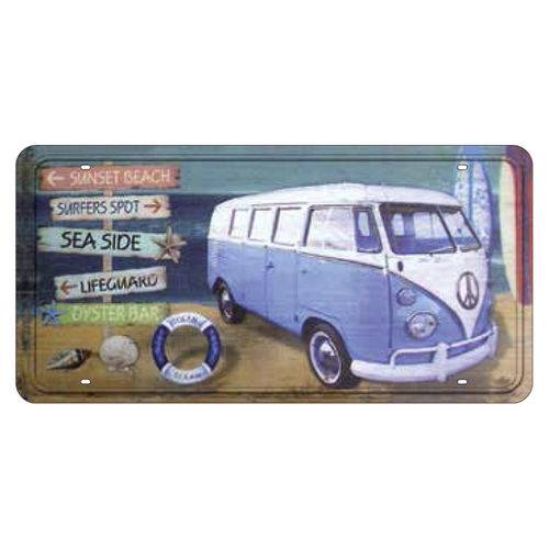 Placa Decorativa 15x30cm Sunset Beach Lpd-019 - Litocart