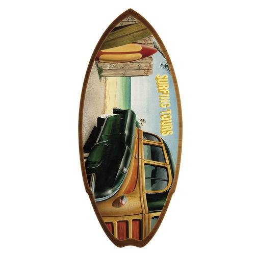 Placa Decorativa 15x30cm Surfing Tours Lpdr-007 - Litocart