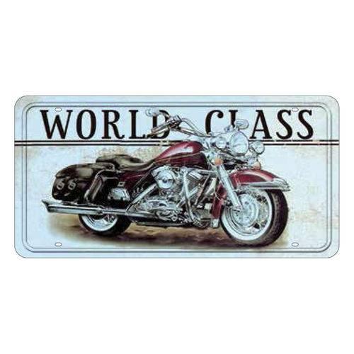 Placa Decorativa 15x30cm World Class Lpd-023 - Litocart