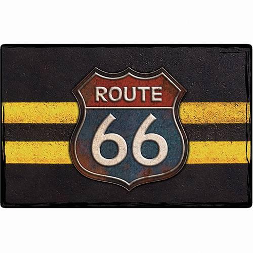 Placa Decorativa 5075 Rota 66 - At.home