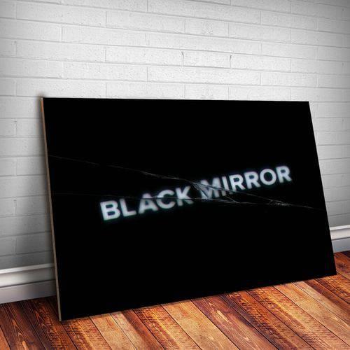Placa Decorativa Black Mirror 2