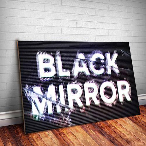 Placa Decorativa Black Mirror 7