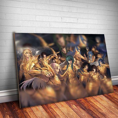 Placa Decorativa Cavaleiros do Zodíaco 13
