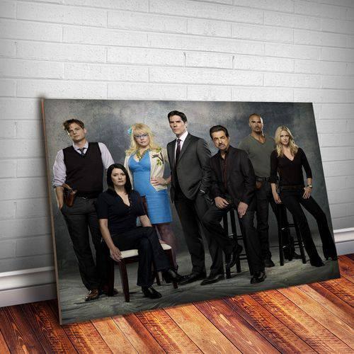 Placa Decorativa Criminal Minds 7