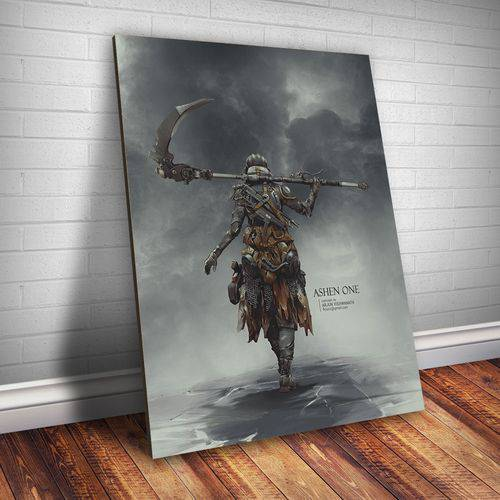 Placa Decorativa Dark Souls 18