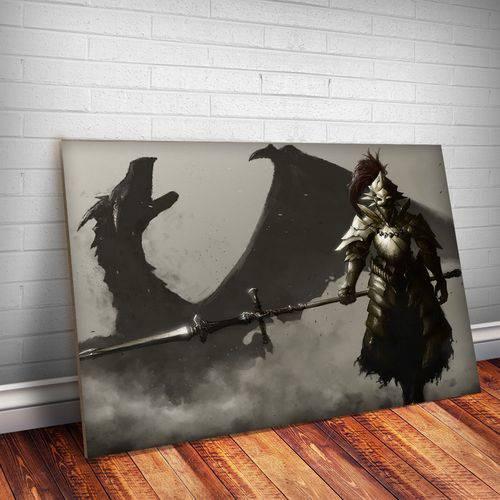 Placa Decorativa Dark Souls 3