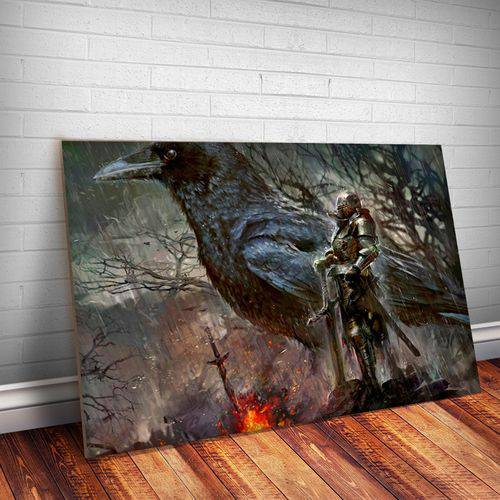 Placa Decorativa Dark Souls 6
