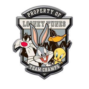 Placa Decorativa de Metal Personagens Looney Tunes
