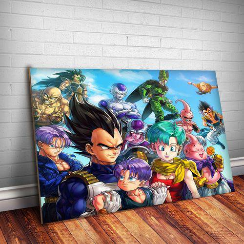 Placa Decorativa Dragon Ball 2