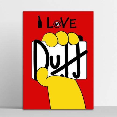 Placa Decorativa Duff 2 20x30cm