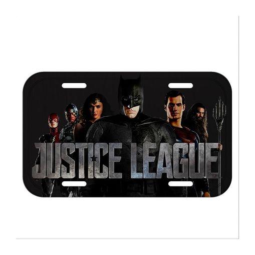 Placa Decorativa em Alumínio Liga da Justiça 41500 Urban
