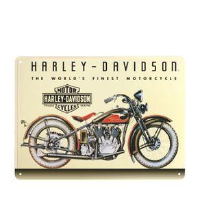 Placa Decorativa em MDF Harley Davidson Vintage