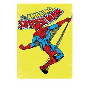 Placa Decorativa em MDF Homem Aranha Marvel