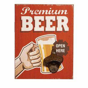 Abridor de Garrafa de Parede Premium Beer