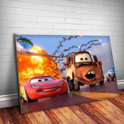Placa Decorativa Filme Carros 3