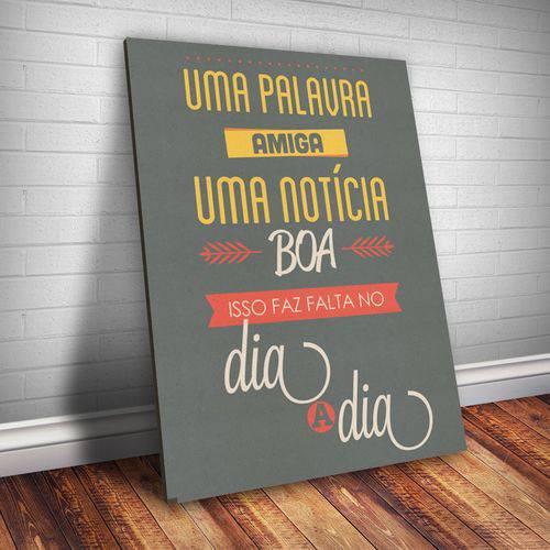 Placa Decorativa Frase de Música 102