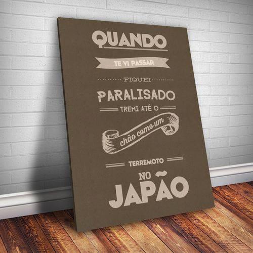 Placa Decorativa Frase de Música 101