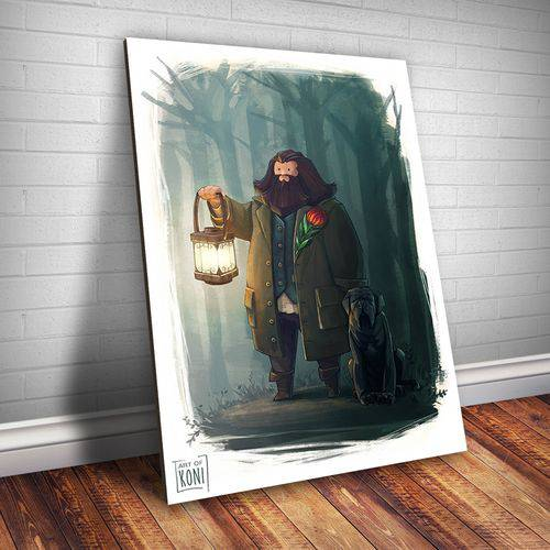 Placa Decorativa Harry Potter 50