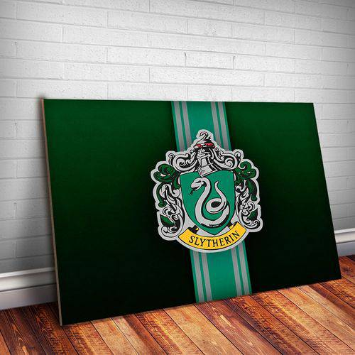 Placa Decorativa Harry Potter Sonserina 5