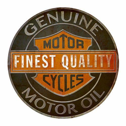 Placa Decorativa Litoarte Dhpm5-197 23,5x23,5cm Motorcycle Finest Quality