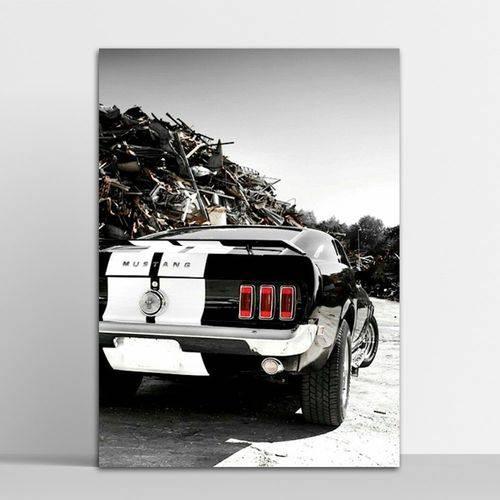 Placa Decorativa Mustang 2 20x30cm
