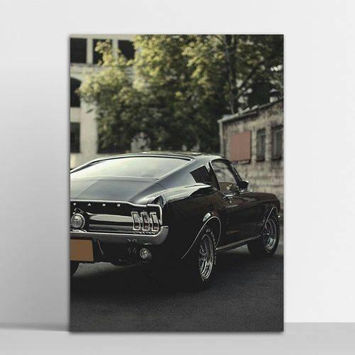 Placa Decorativa Mustang 4 20x30cm