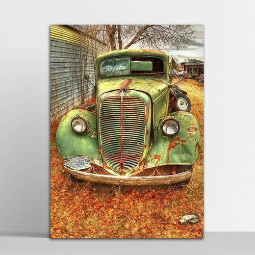Placa Decorativa Old Car 20x30cm