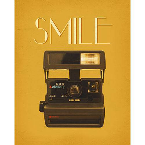 Placa Decorativa Smile 24x19cm Dhpm-143 - Litoarte