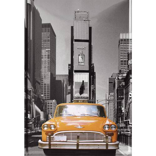 Placa Decorativa 32x21,5cm Nova York Lpqm-017 - Litocart