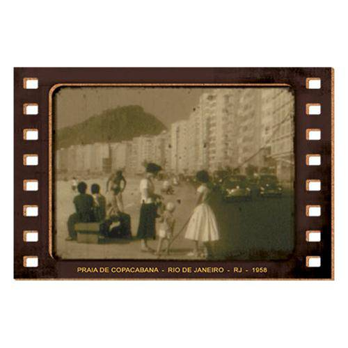 Placa Decorativo em Mdf 15x10 Praia de Copacabana Dhpm5-126 - Litoarte