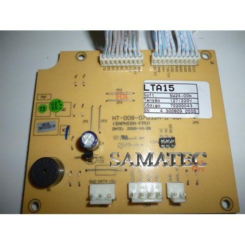 Placa Eletronica Interface Lavadora Electrolux Mod: Lta-15 64800260