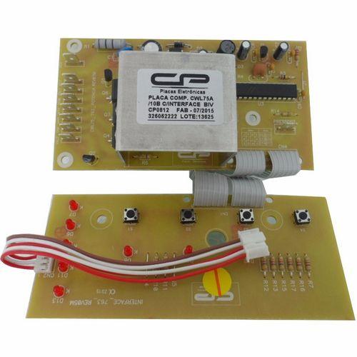 Placa Eletrônica Potência e Interface Lavadora Cwl75a Cwl10b - CP0812