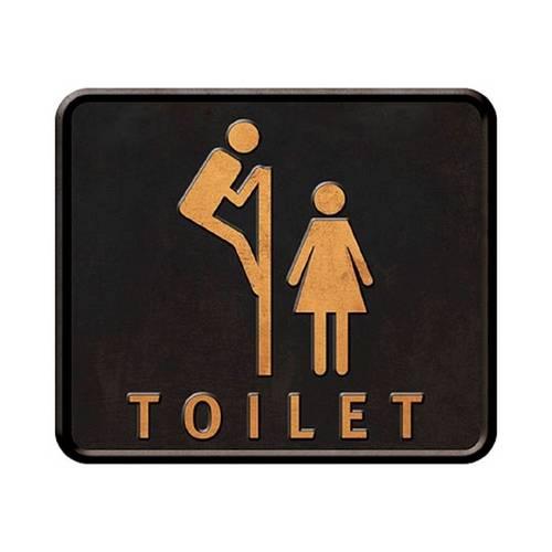 Placa em Mdf e Papel Decor Home Toilet Dhpm-030 - Litoarte