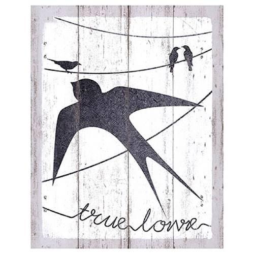 Placa em Mdf e Papel Decor Home Truelove Dhpm-054 - Litoarte