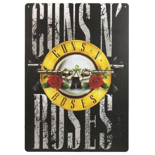 Placa em Mdf - Guns N' Roses