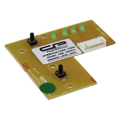 Placa Interface Lavadora Electrolux Cp0991 Lte09