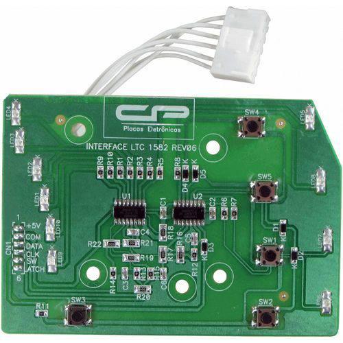 Placa Interface Lavadora Electrolux Cp1435 Lt15 Ltc10