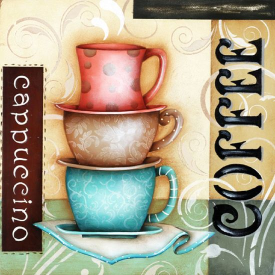 Placa Madeira Quadrada Coffee LPQC-010 - Litocart