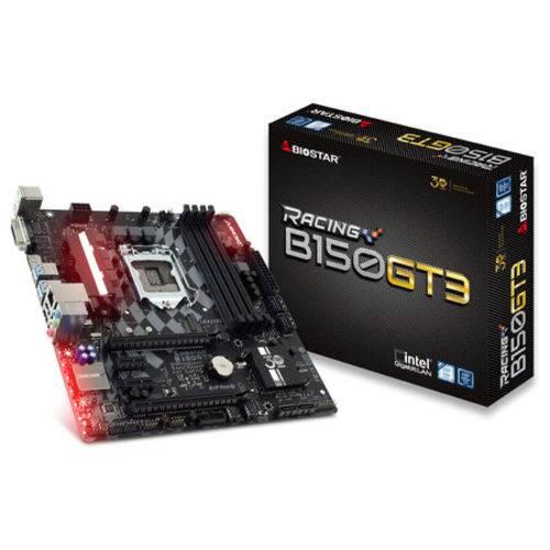 Placa Mãe Biostar B150GT3 LGA 1151 VGA/HDMI/USB 3.0/DDR4