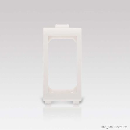 Placa para Móvel Arteor 1 Módulo Branco 576015B Pial