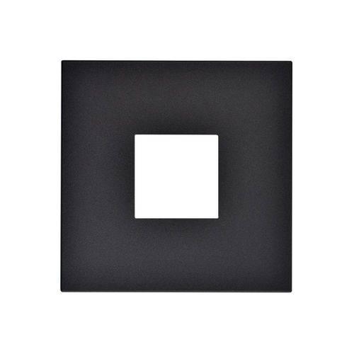 Placa para 2 Postos Arteor Pearl Alumínio 4x4