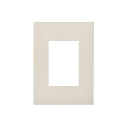 Placa para 3 Postos Arteor Pearl Alumínio 4x2