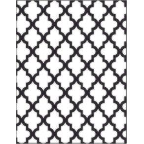 Placa para Relevo 2D 10,7 X 13,9 Cm Marroquino Ref.20920-PPR006 Toke e Crie
