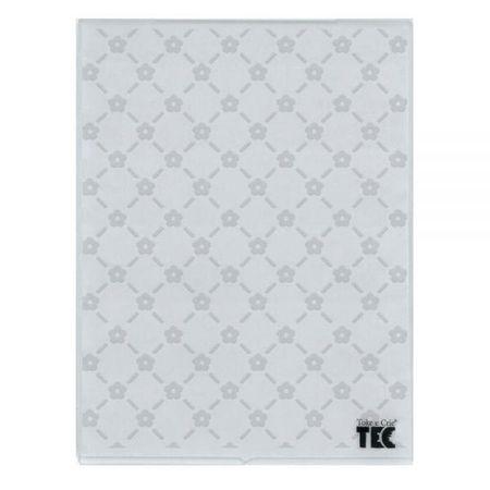 Placa para Relevo 2D Elegance 7,5 X 12,7cm Mini Flores