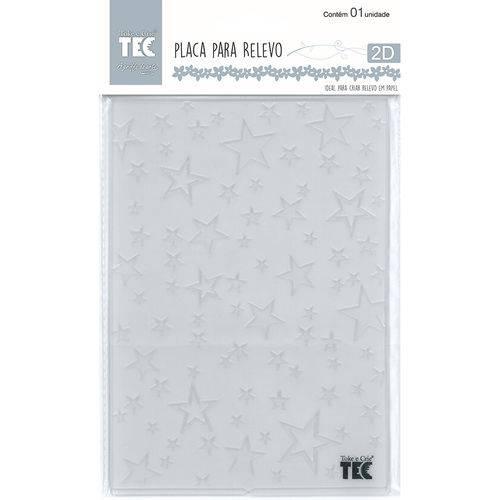 Placa para Relevo 2d Elegance Toke e Crie 127 X 177 Mm - Estrelas 20929 - Ppr015