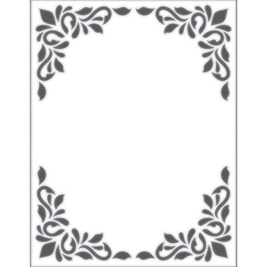 Placa para Relevo 2D Elegance Toke e Crie PPR001 10,7x13,9 Quadro Decorativo
